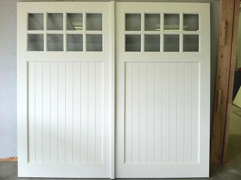 White Garage Door Ideas